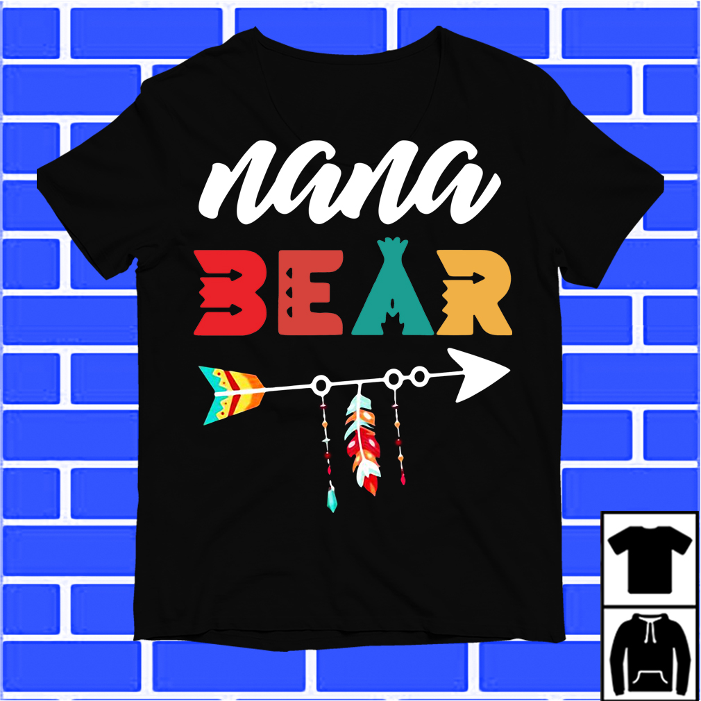 Arrow Nana Bear shirt