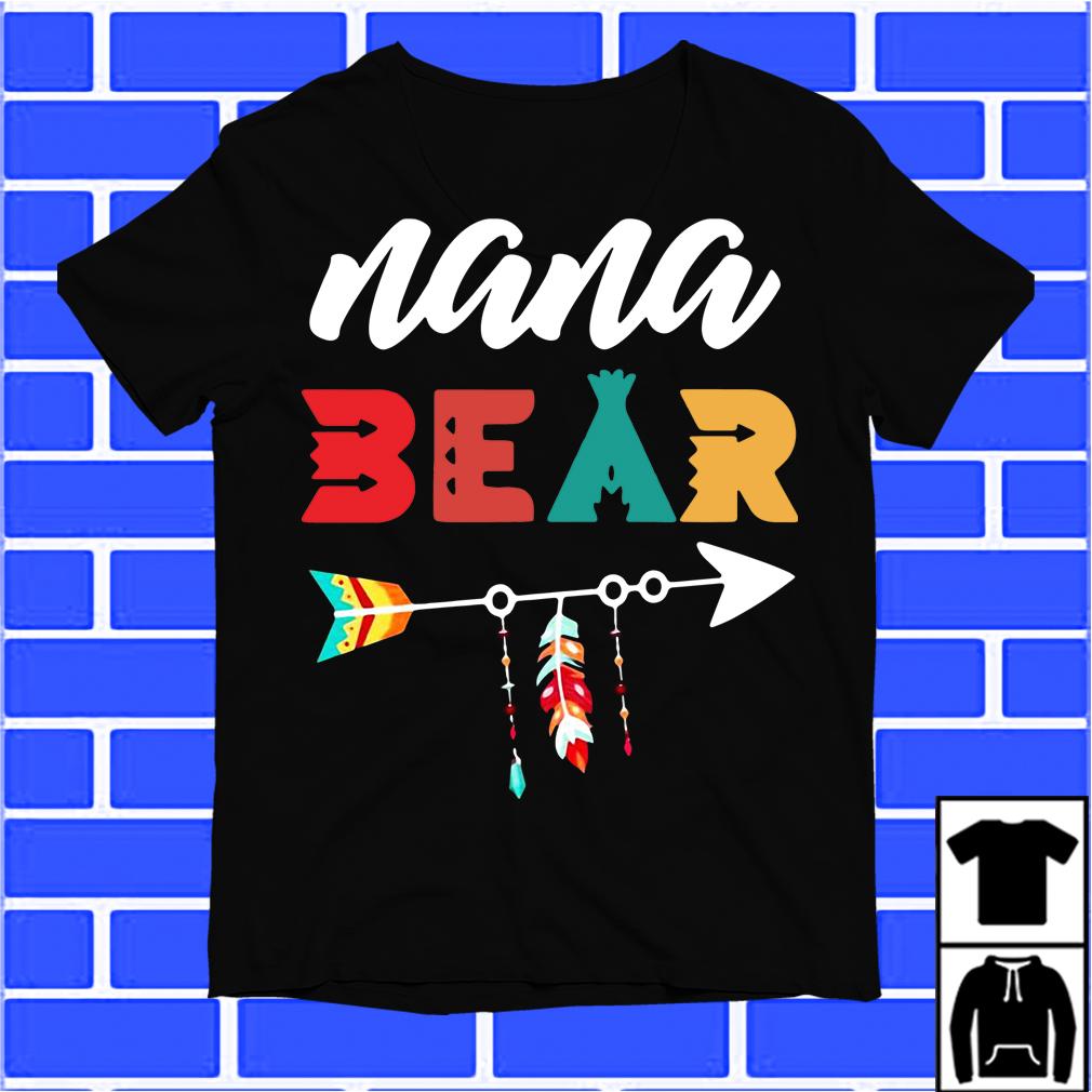 Arrow Nana Bear shirt