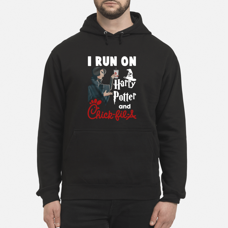 Harry Potter and Chick-fil-a I run on Hoodie