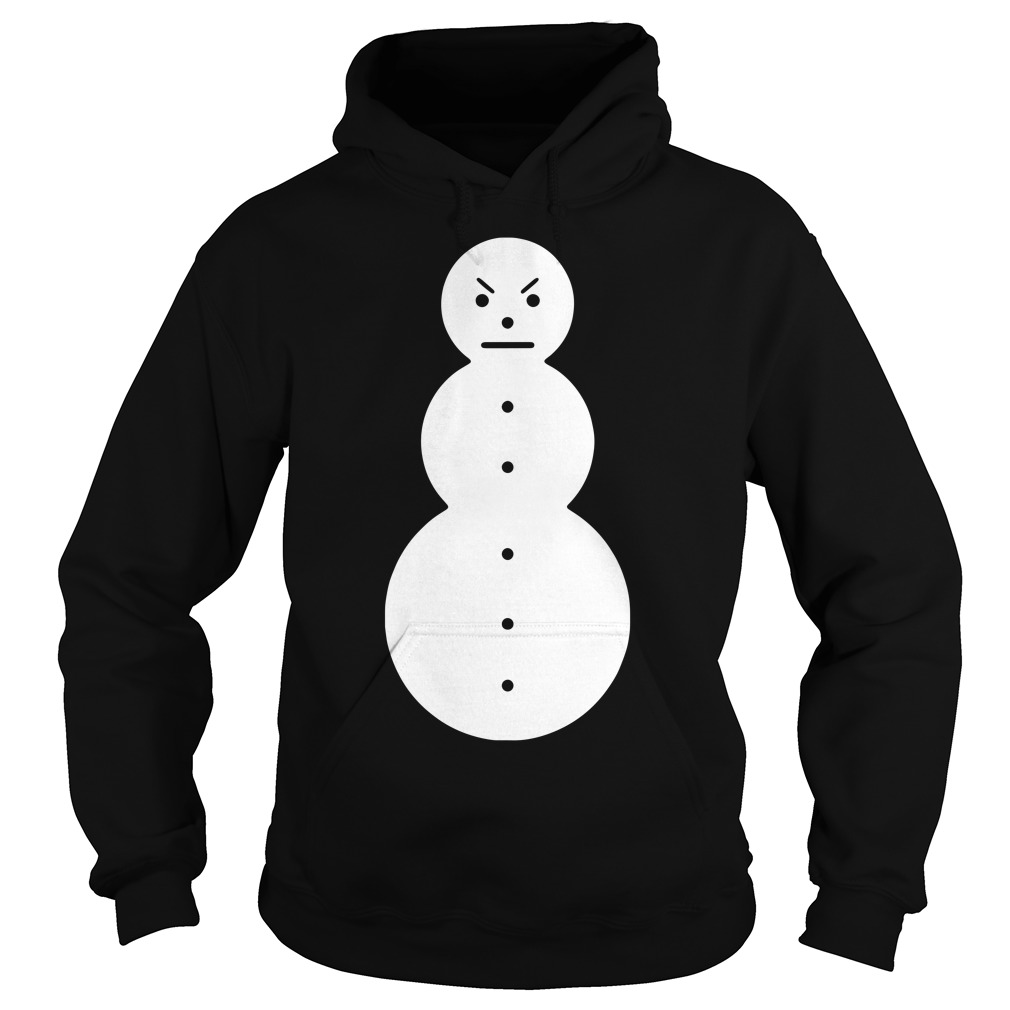Angry snowman Hoodie