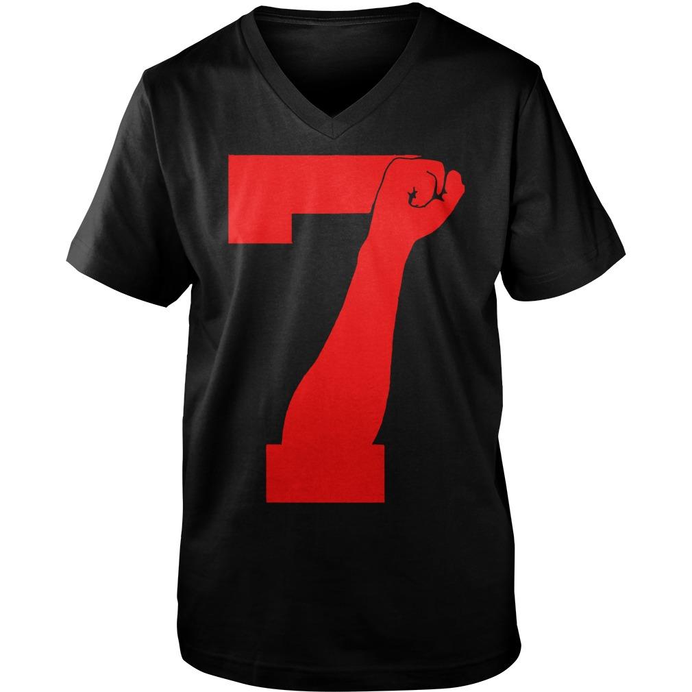 Colin Kaepernick 7 FIST  Guy V-Neck