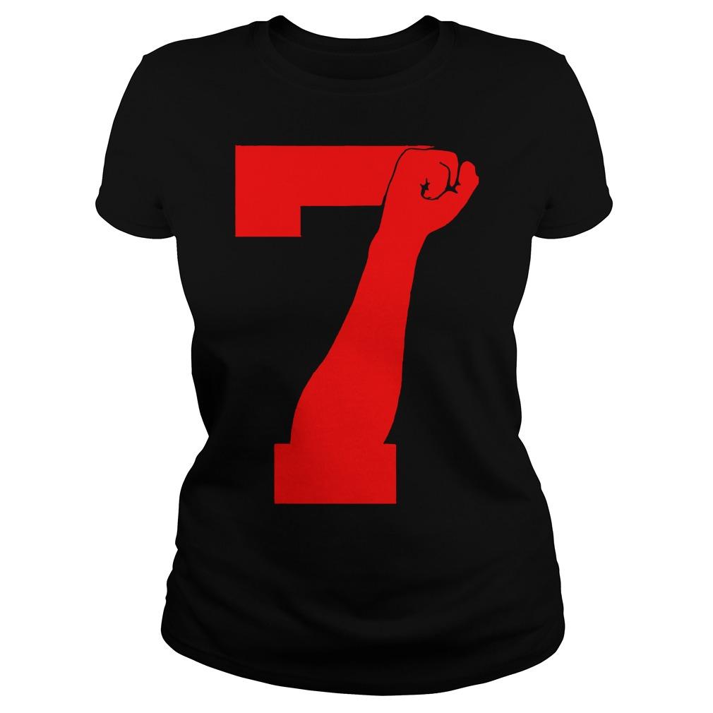 Colin Kaepernick 7 FIST Ladies Tee