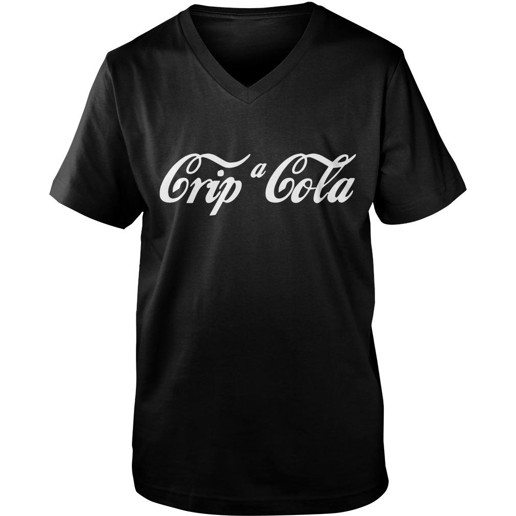 Crip a Cola  Guy V-Neck