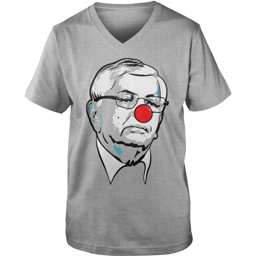 David Stern Clown  Guy V-Neck
