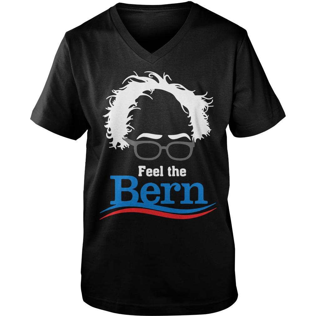 Feel The Bern  Guy V-Neck