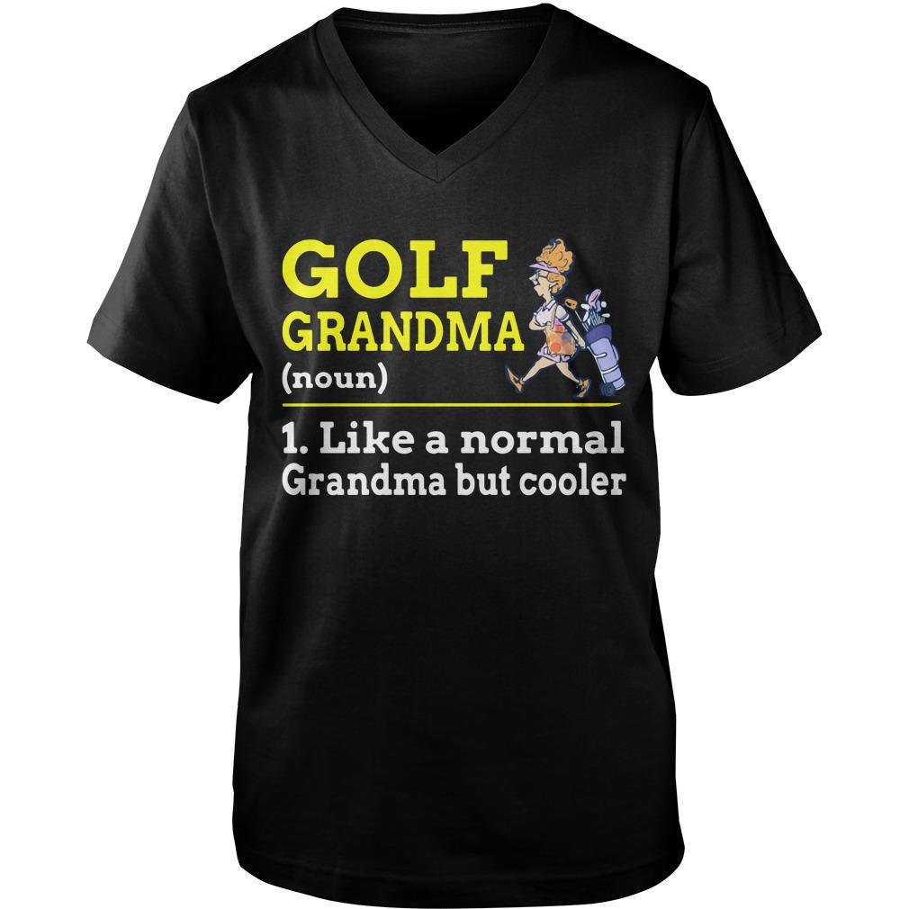 GOLF Grandma  Guy V-Neck