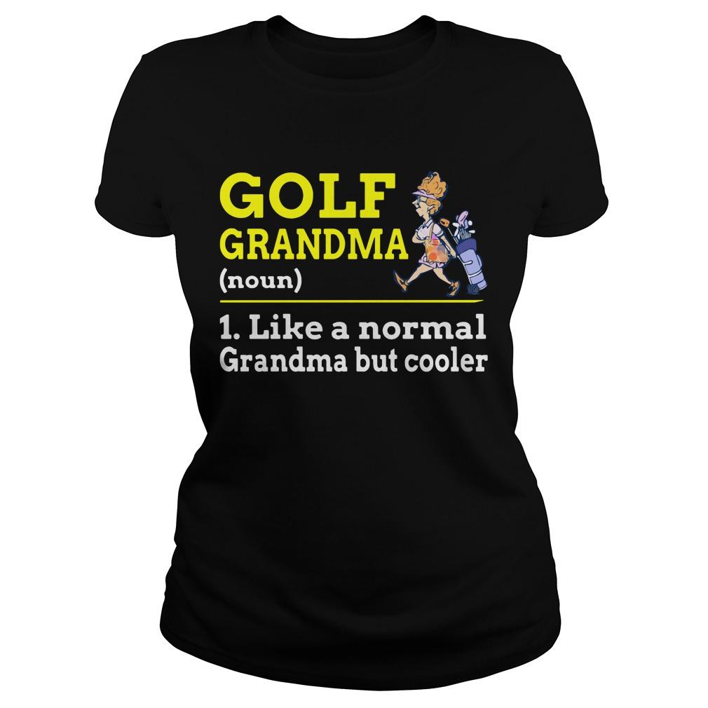 GOLF Grandma Ladies Tee