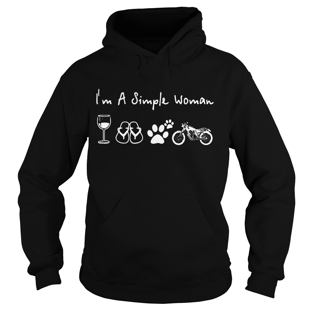 I'm a simple woman Hoodie