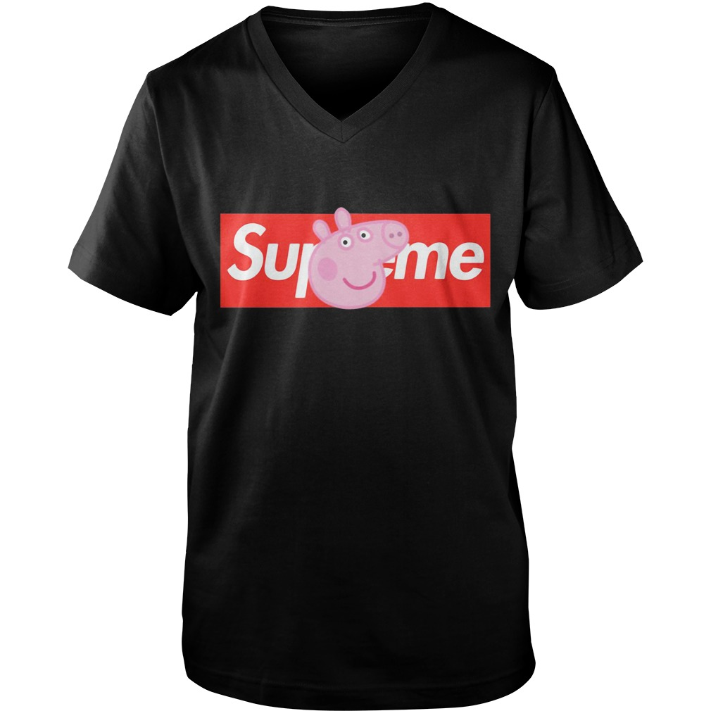 Peppa Pig Supreme  Guy V-Neck