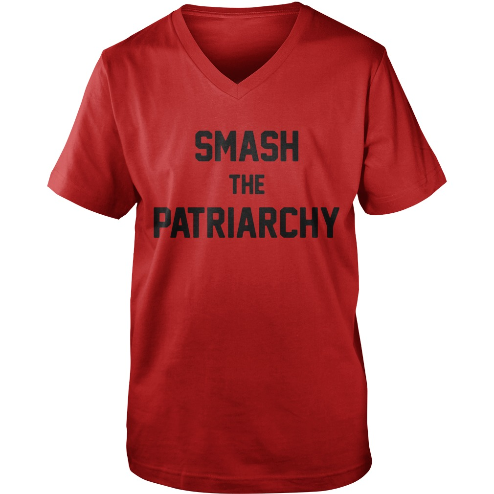 Smash the Patriarchy  Guy V-Neck