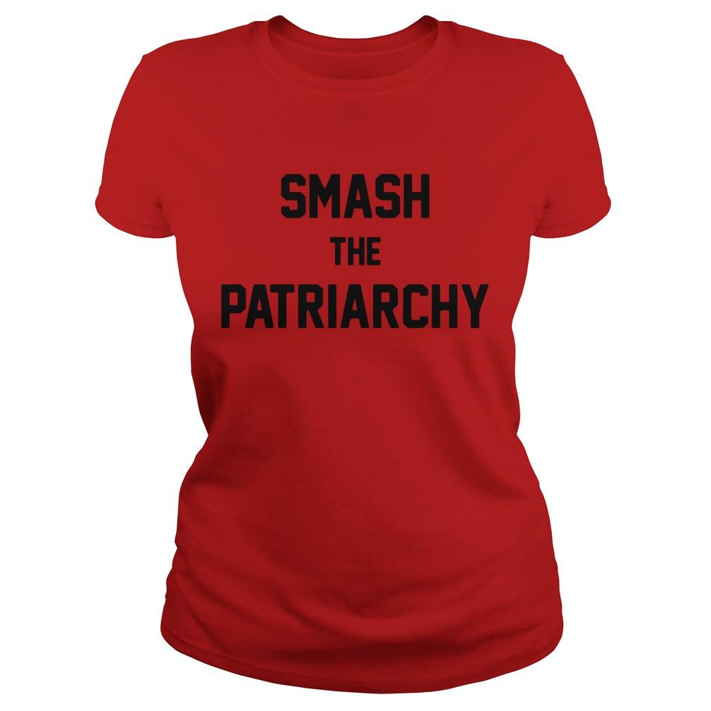 Smash the Patriarchy Ladies Tee