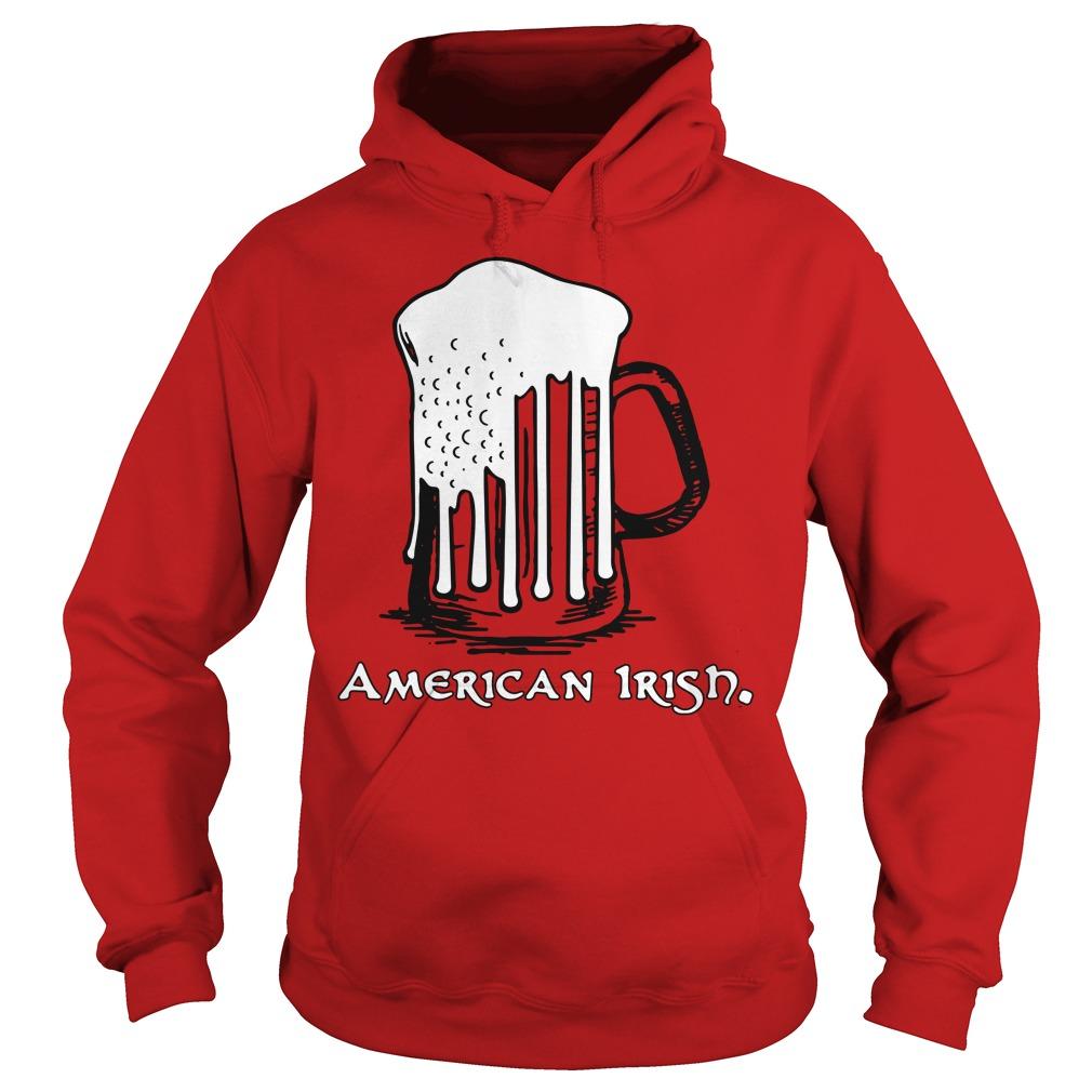 St Patrick's Day Beer Flag American Irish Hoodie