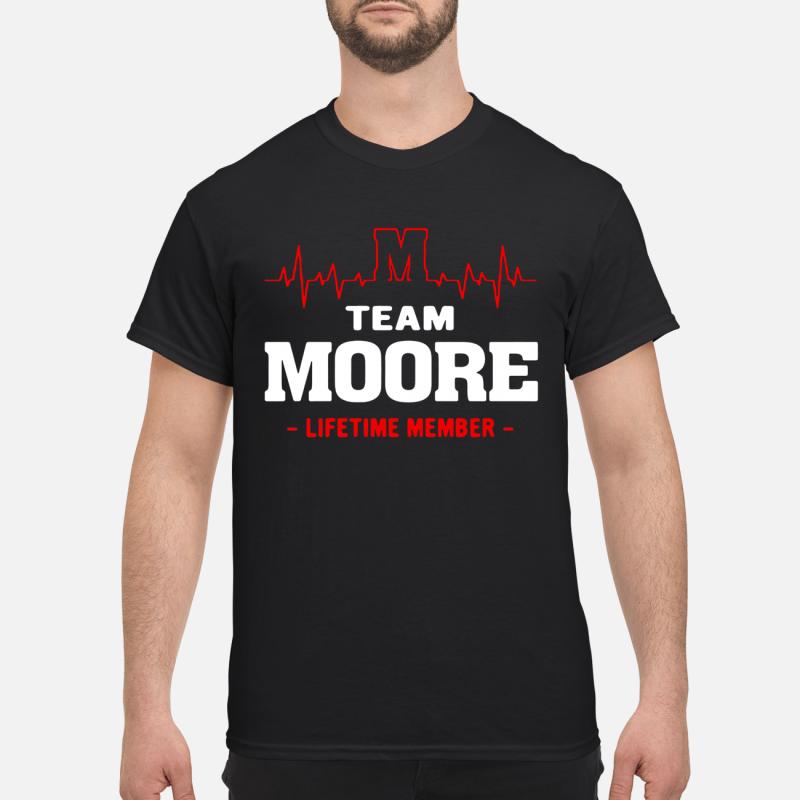Team Moore Lifetime Member Guy Tees