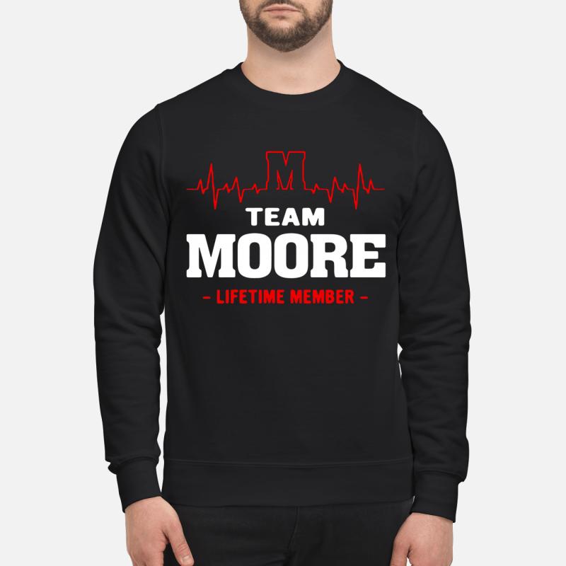 Team Moore Lifetime Member Sweater