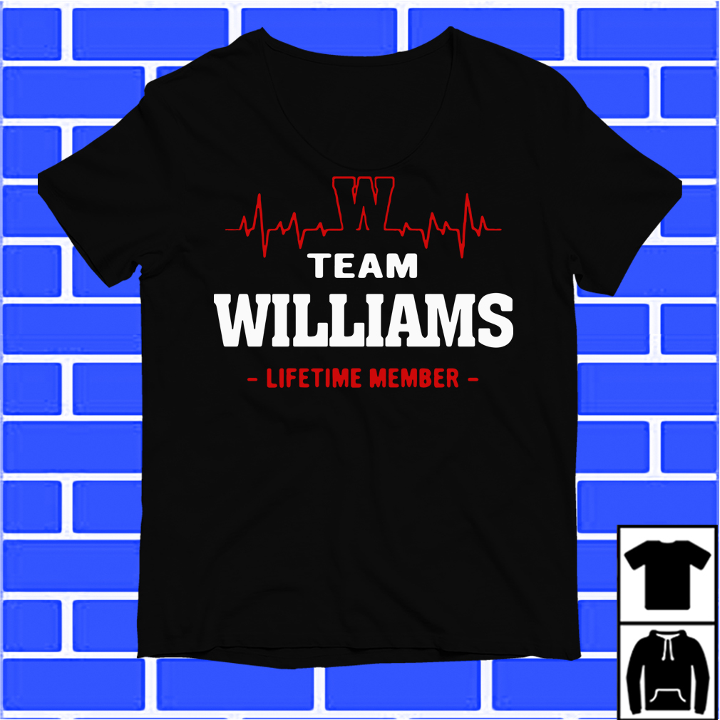 Team Williams Lifetime Member Shirt