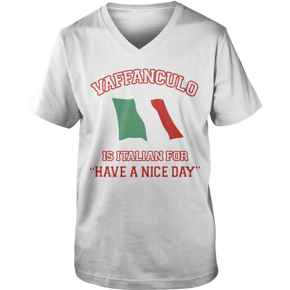 Vaffanculo Is Italian For Have A Nice Day  Guy V-Neck