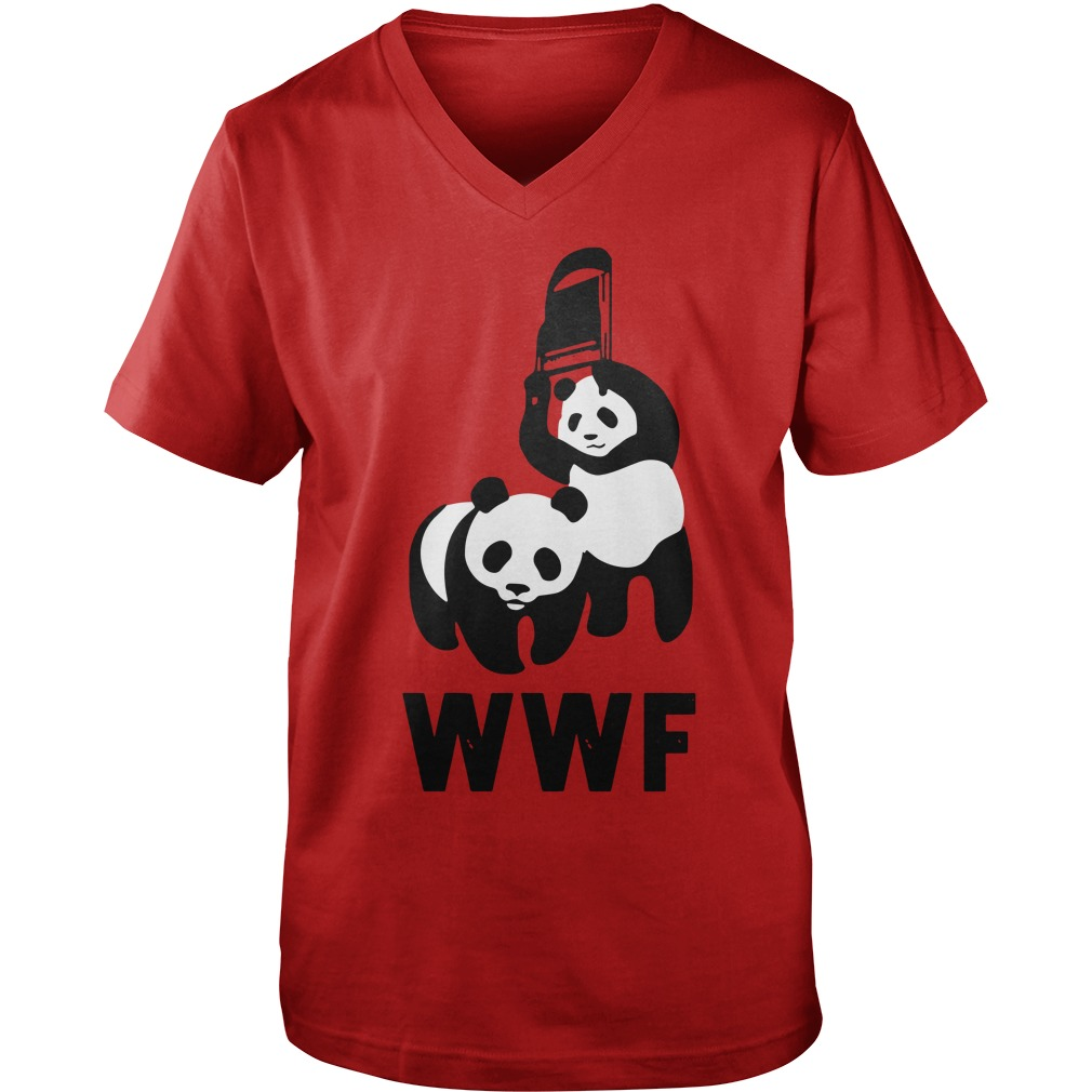WWF Panda Chair  Guy V-Neck
