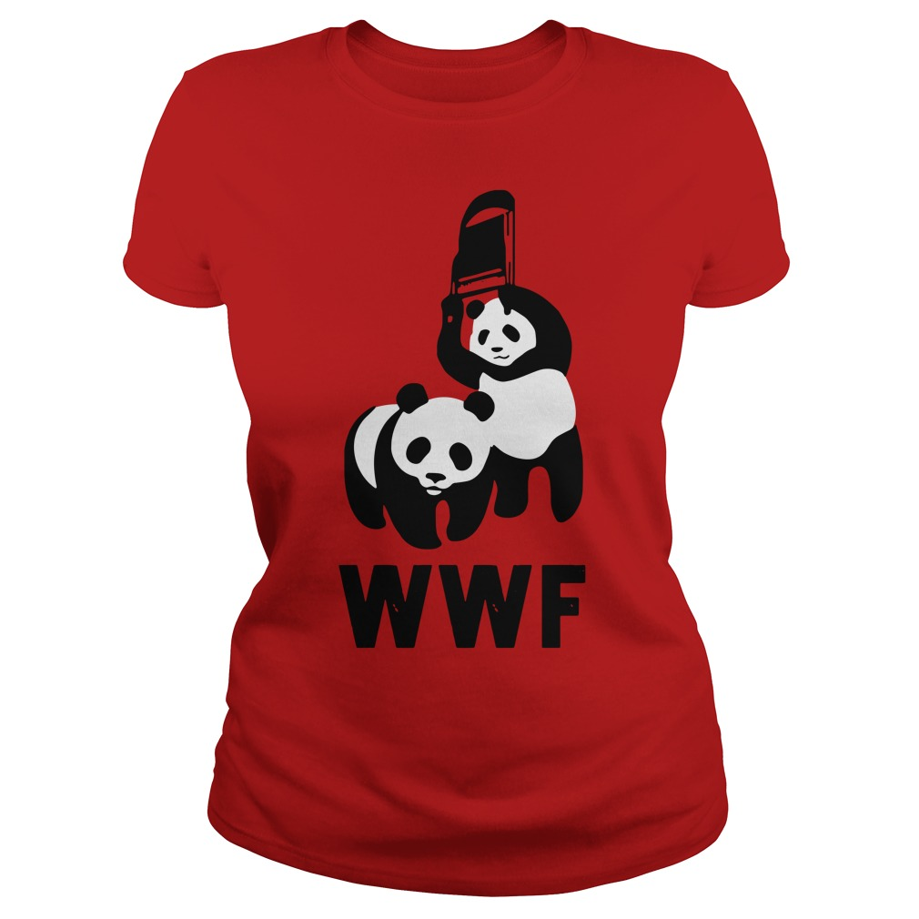 WWF Panda Chair Ladies Tee