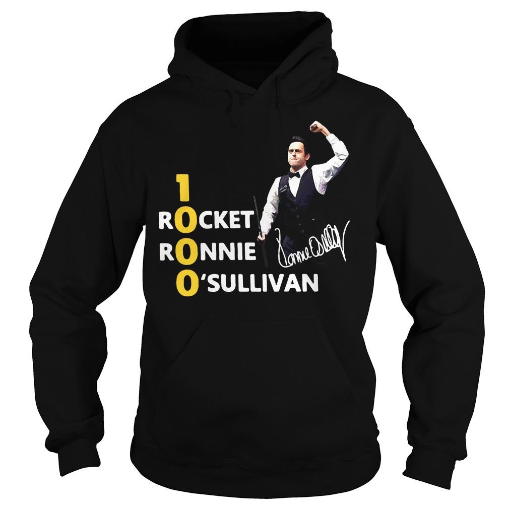 1000 Rocket Ronnie O'Sullivan Hoodie