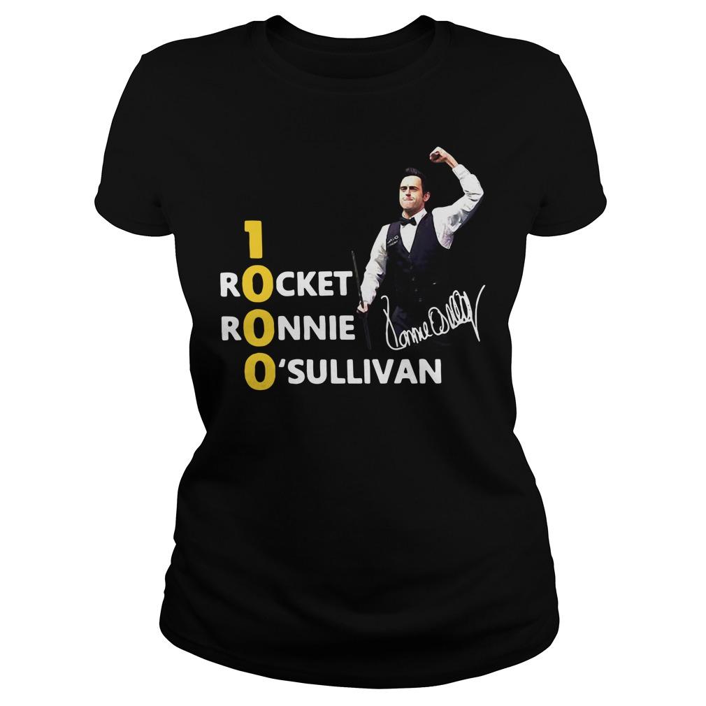 1000 Rocket Ronnie O'Sullivan Ladies Tee