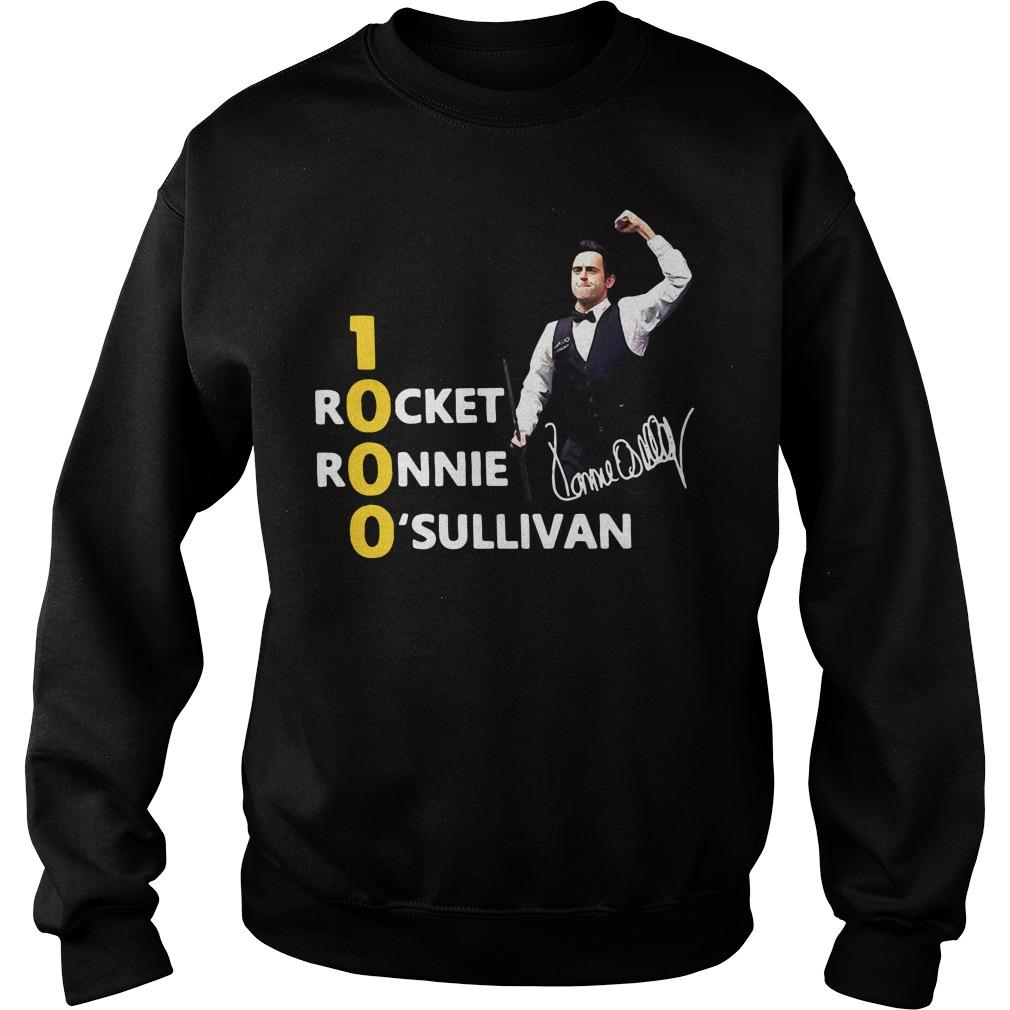 1000 Rocket Ronnie O'Sullivan Sweater
