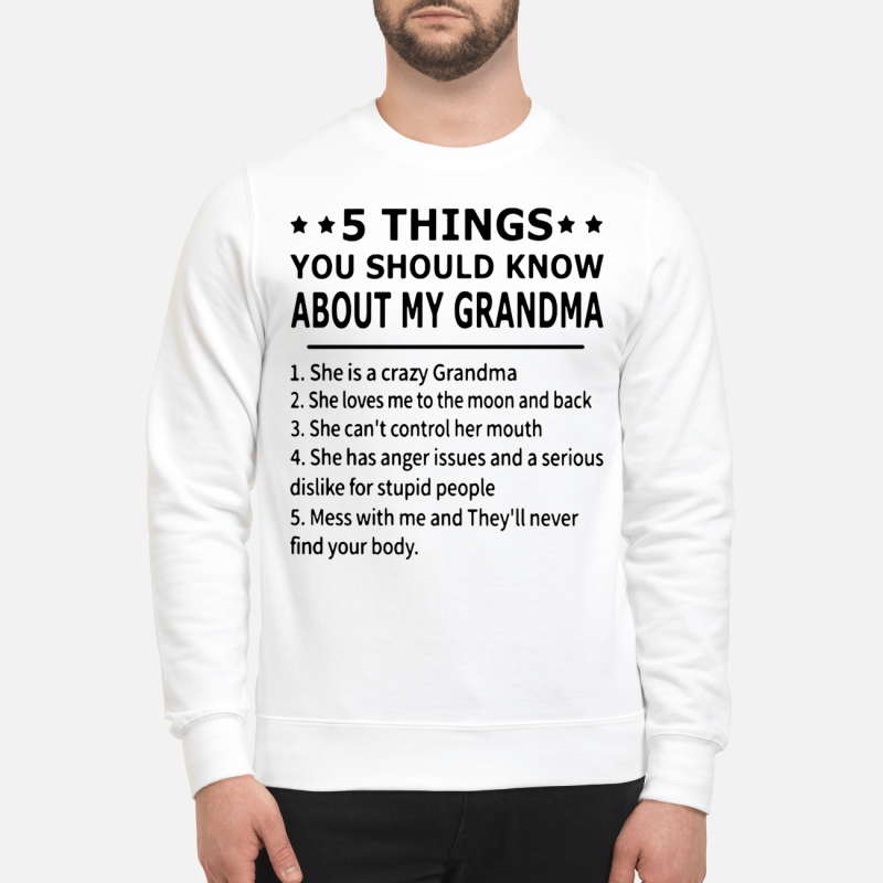 5 Things You Should Know About My Grandma Sweater