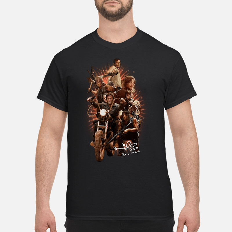 Daryl'S Life In The Walking Dead Guy Tees
