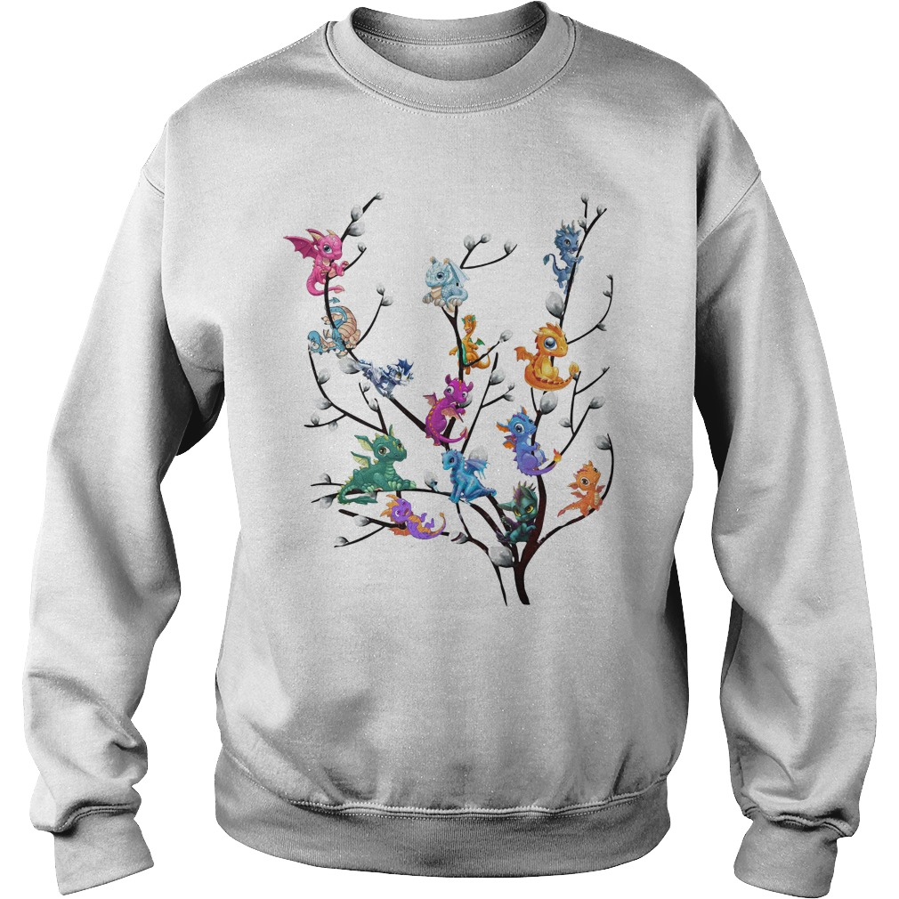 Dragons In Willow Tree Sweater