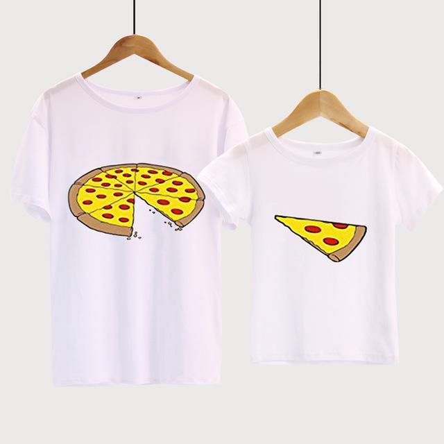 Family Matching Pizza Shirt