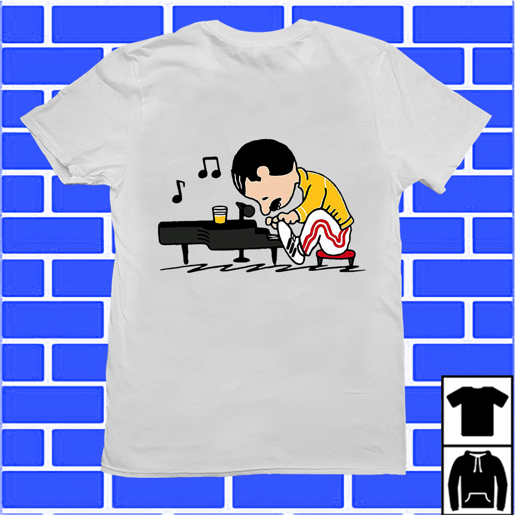 Freddie Mercury Plays Piano Shirt
