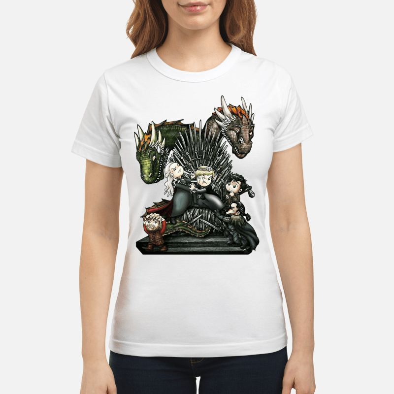 Game Of Thrones Chibi Ladies Tee