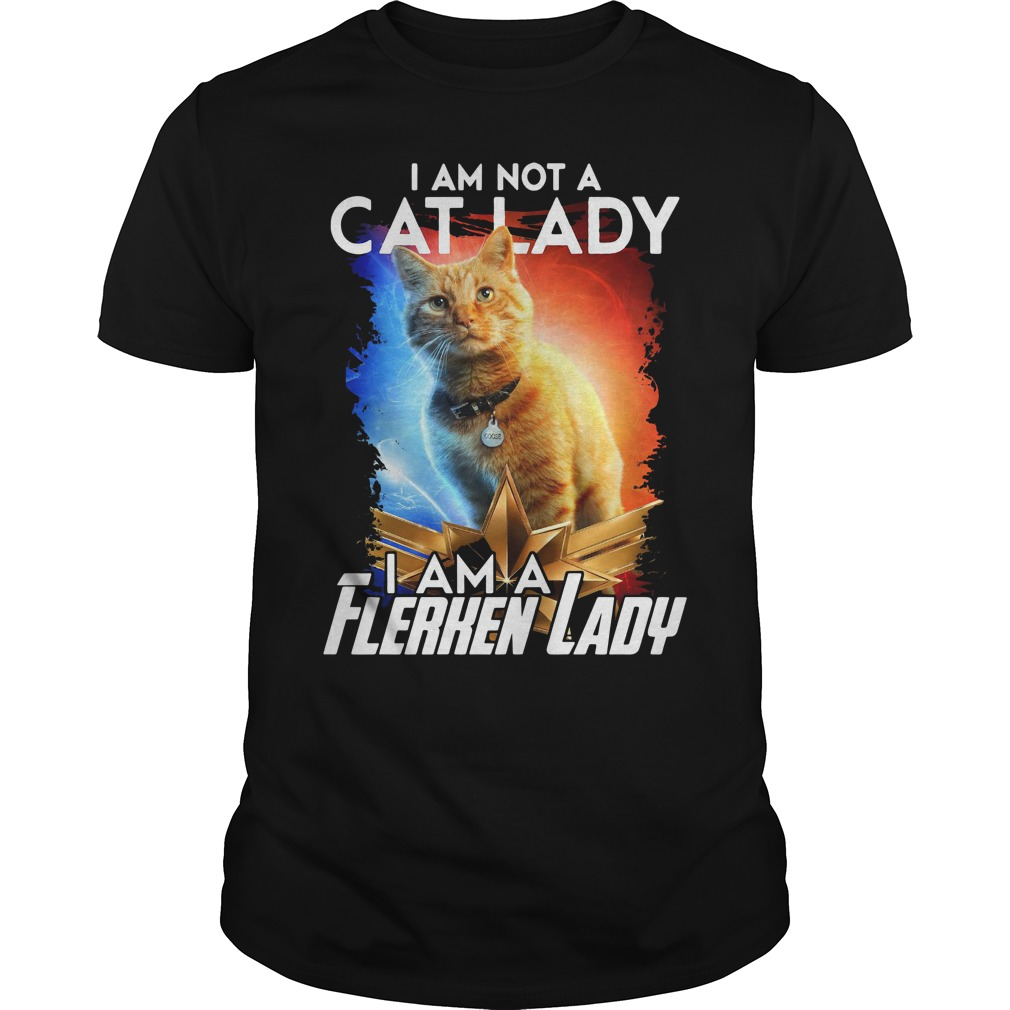 Goose The Cat I Am Not A Cat Lady I Am A Flerken Lady Guy Tees