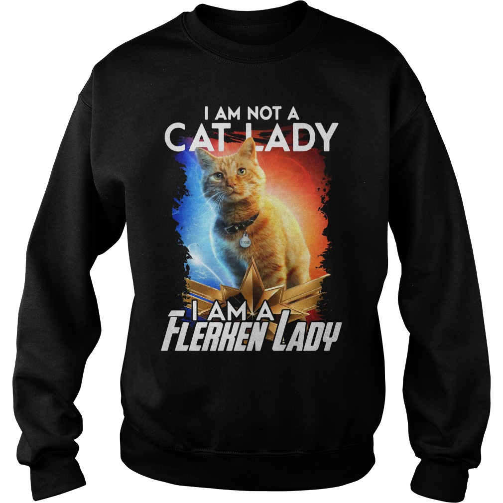 Goose The Cat I Am Not A Cat Lady I Am A Flerken Lady Sweater