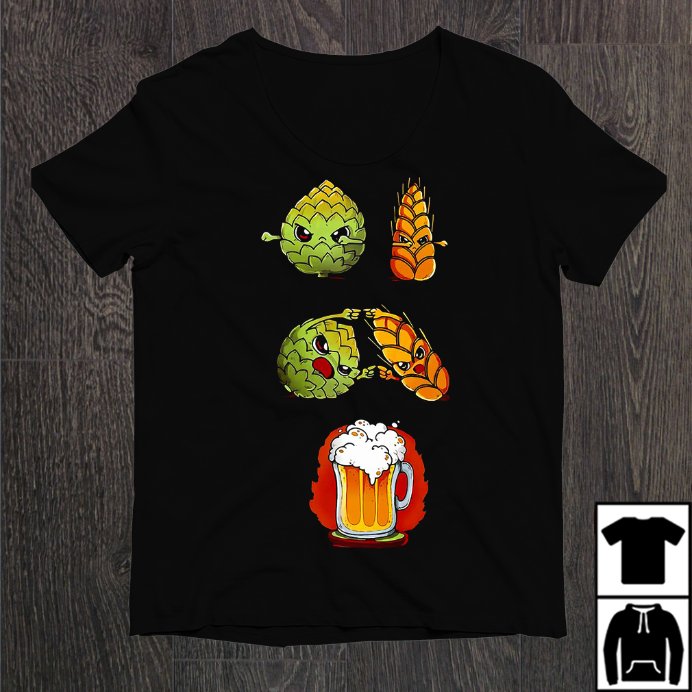 Hops Fusion Barley Become Beer Shirt