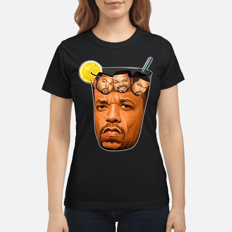 Ice-T With Ice Cubes Ladies Tee