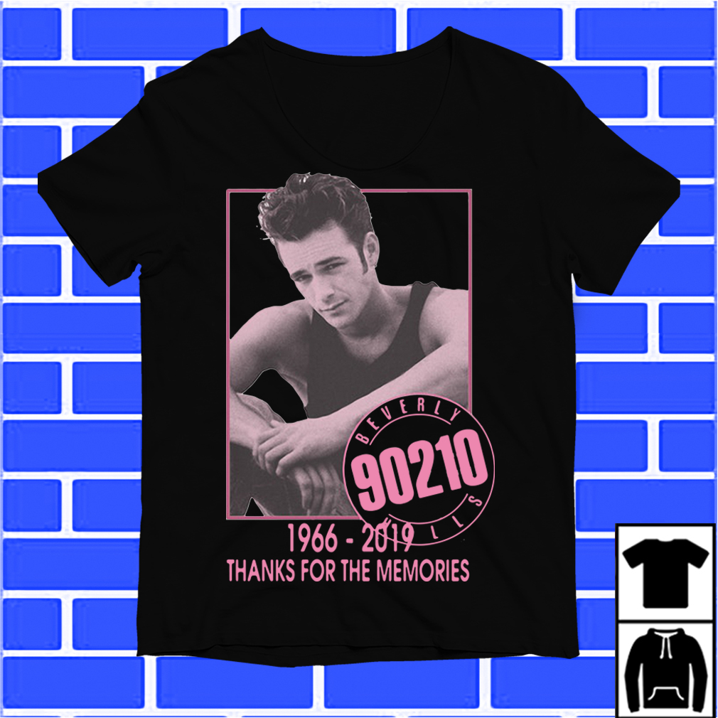 Luke Perry 1966-2019 Thanks For The Memo Beverly Hills 90210 Shirt