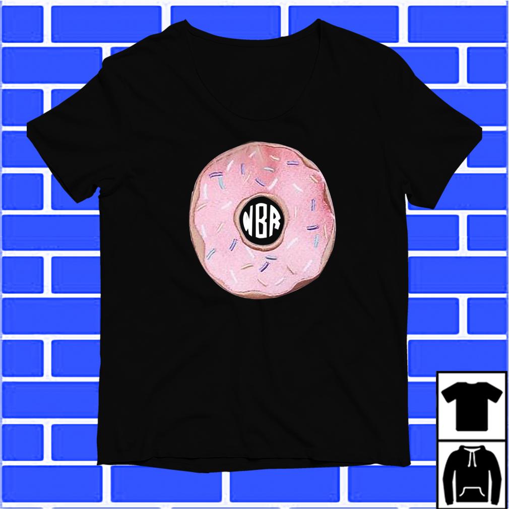 Pink Monogrammed Donut Crewneck Shirt
