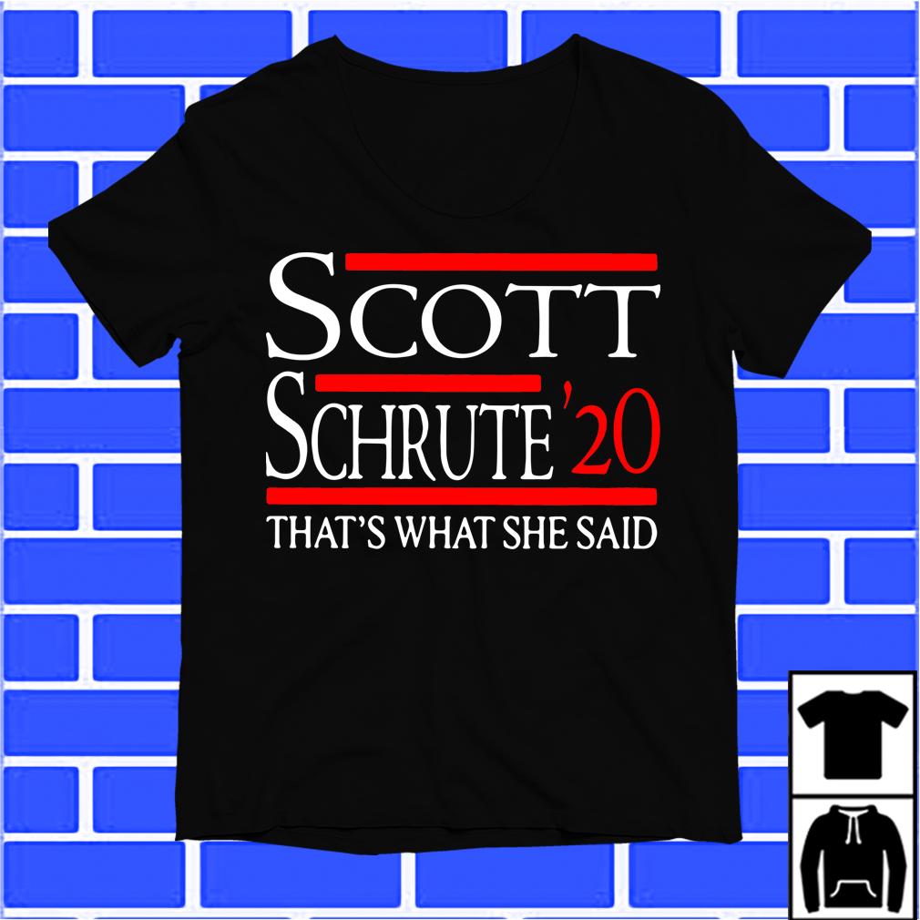 Scott Schrute 20 That'S What She Said Shirt