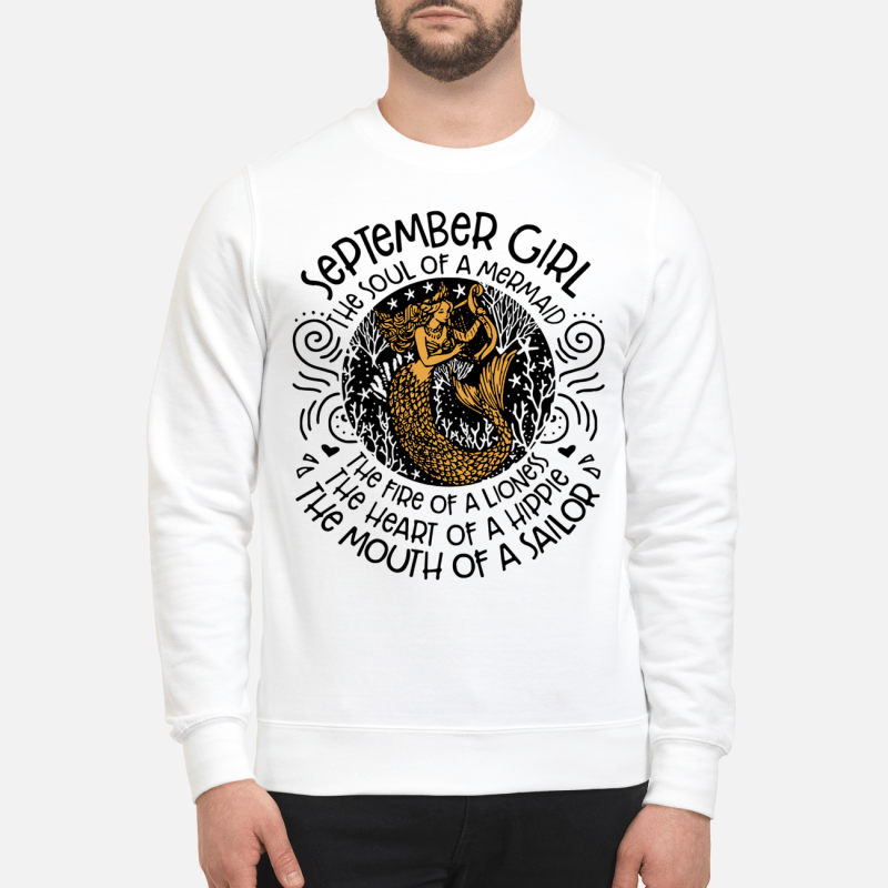 September Girl The Soul Of Mermaid The Fire Of A Lioness Sweater