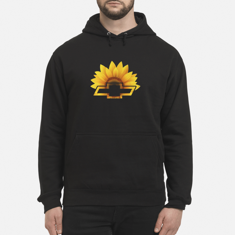 Sunflower With Chevy Logo Hoodie