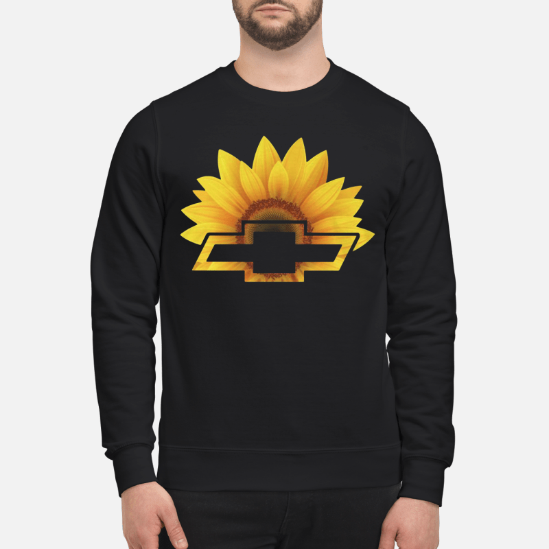 Sunflower With Chevy Logo Sweater