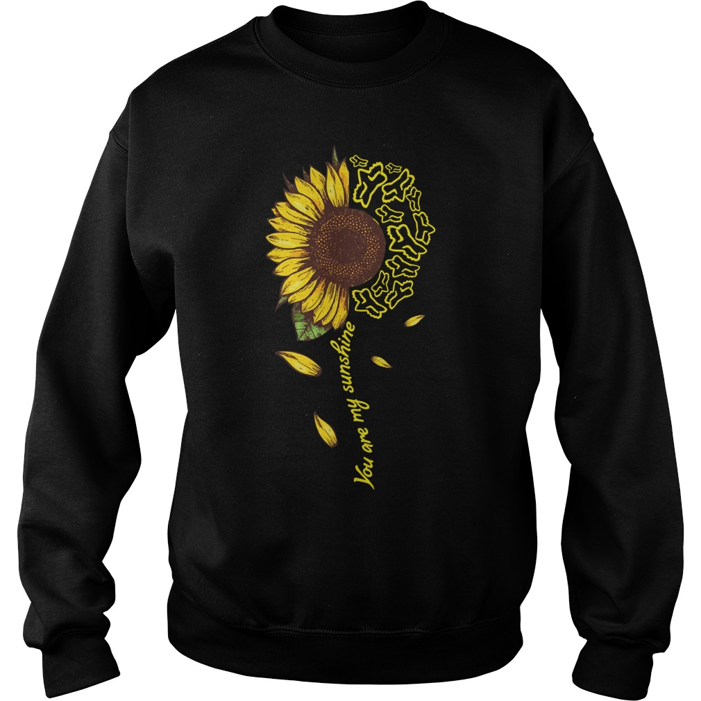 Sunflower Moto Ride You Are My Sunshine Sweater