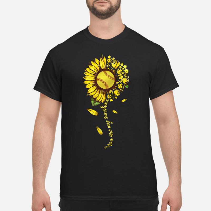Sunflower You Are My Sunshine Guy Tees