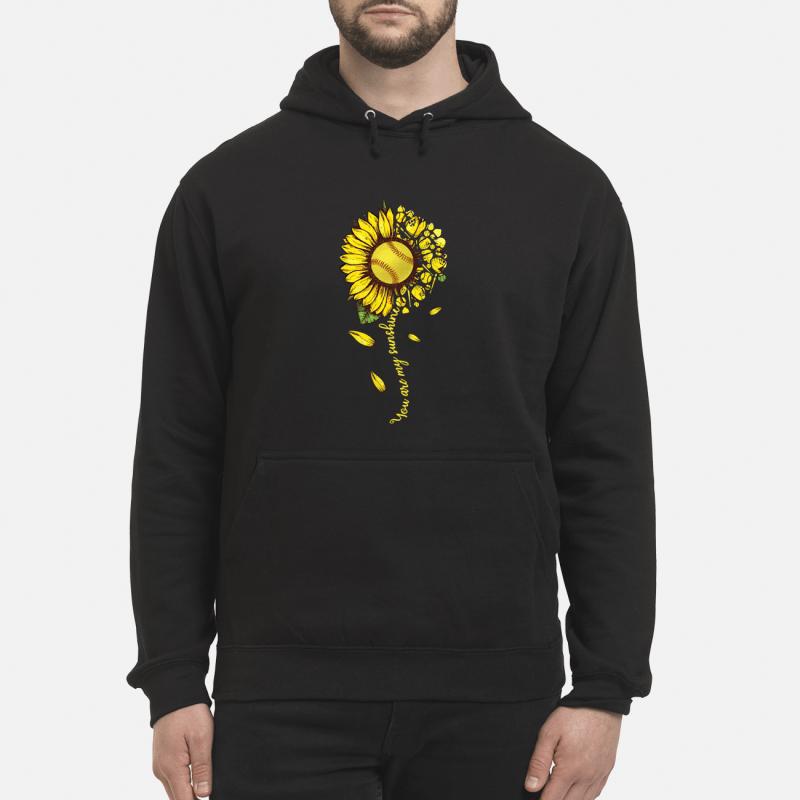 Sunflower You Are My Sunshine Hoodie