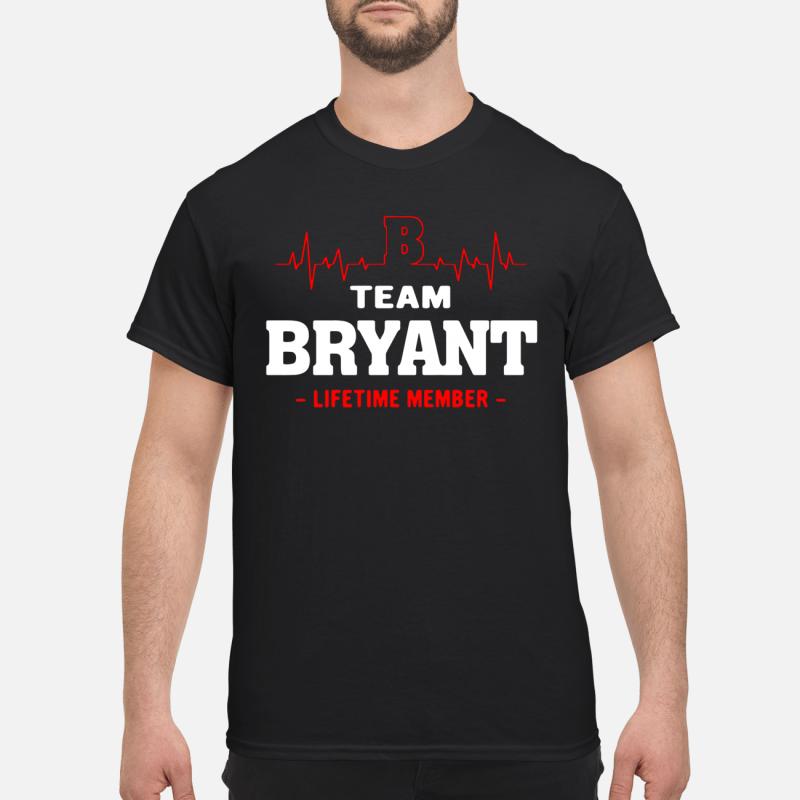 Team Byant Lifetime Member Guy Tees