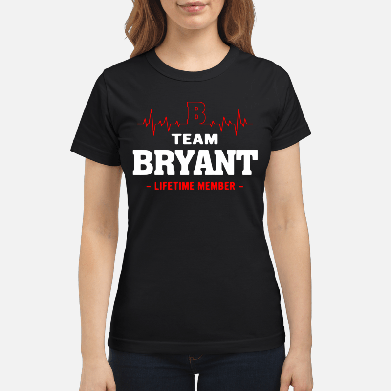 Team Byant Lifetime Member Ladies Tee