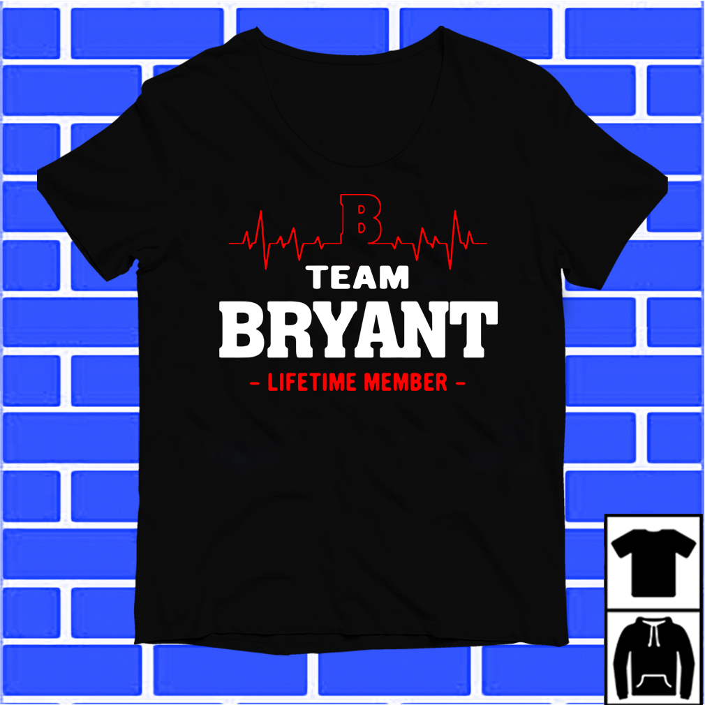 Team Byant Lifetime Member Shirt