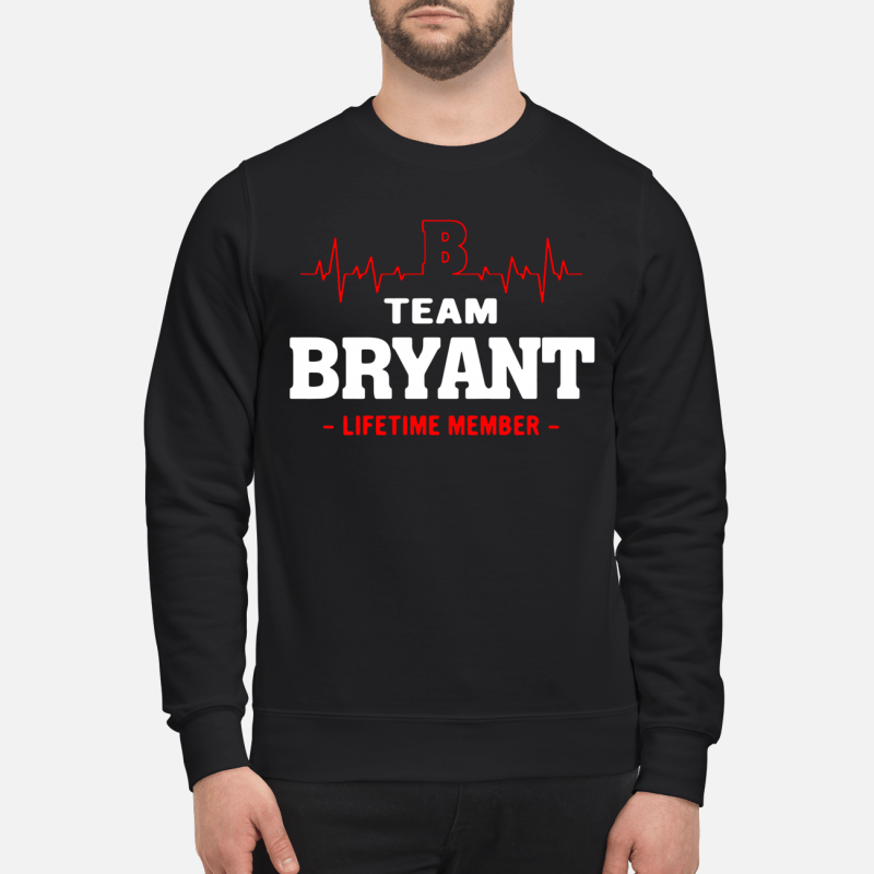 Team Byant Lifetime Member Sweater