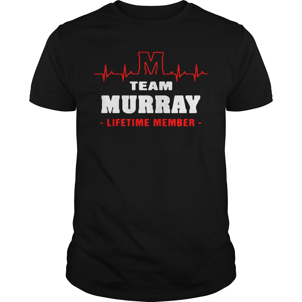 Team Murray Lifetime Member Guy Tees