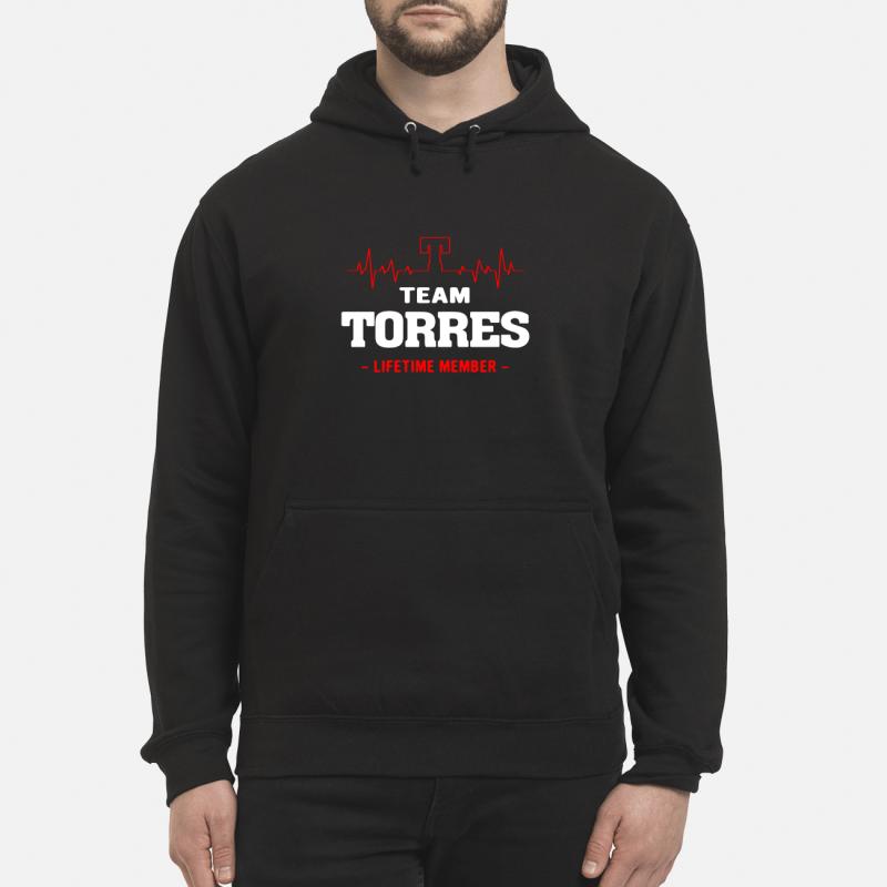 Team Torres Lifetime Member Hoodie